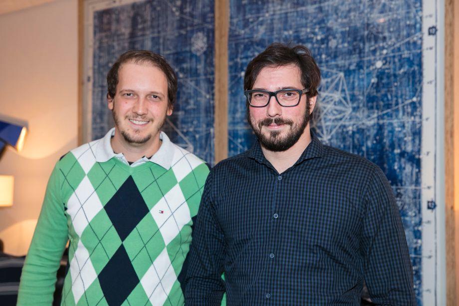 Anderson Macelani e Tiago Sutton