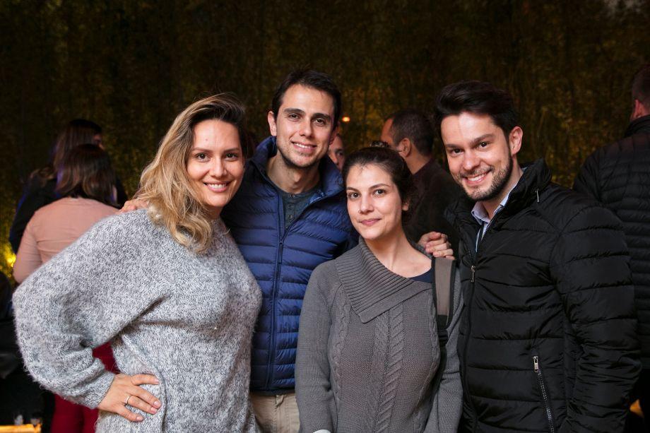 Clariça Lima, Renato Navarro, Isabella Tenucci e Tato Moniz