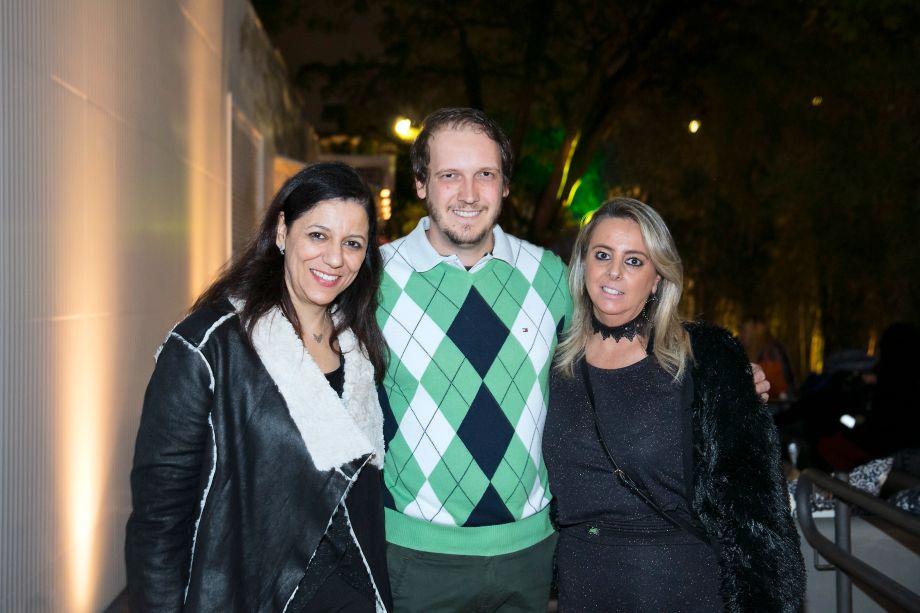 Cleide Gomes, Anderson Macelani e Ana Paula Porto