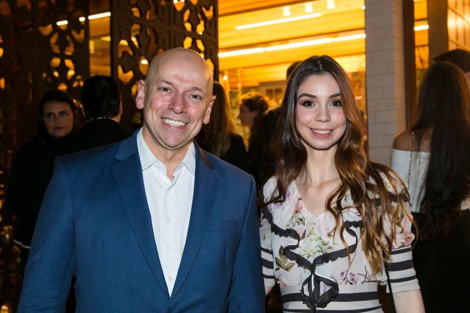 Leandro Karnal e Mariana Crego