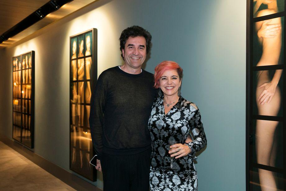 Eduardo Fernades e Luciana Crepaldi