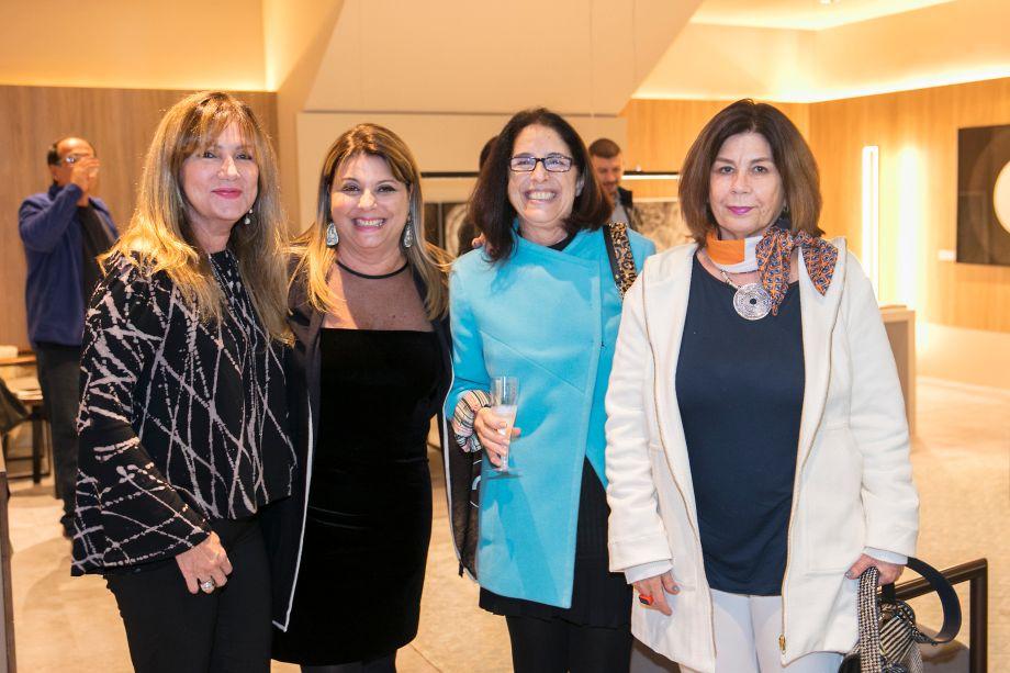Ofelia de Arruda, Marília Veiga, Priscila Lagoa e Marilene Pottes