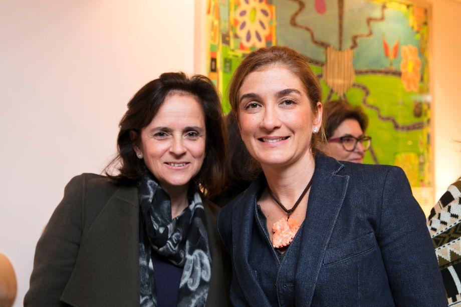 Patricia Quentel e Marina Linhares
