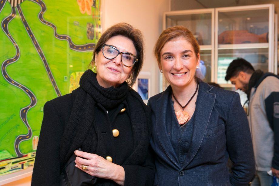 Cristina Ferraz e Marina Linhares