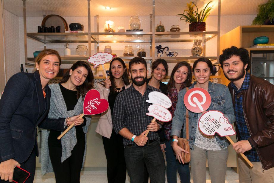 Marina Linhares e Grupo Pinterest