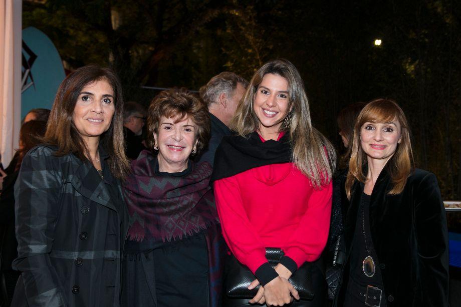 Vania Araujo, Judith Rosenhek, Bia Abreu e Andrea Marins