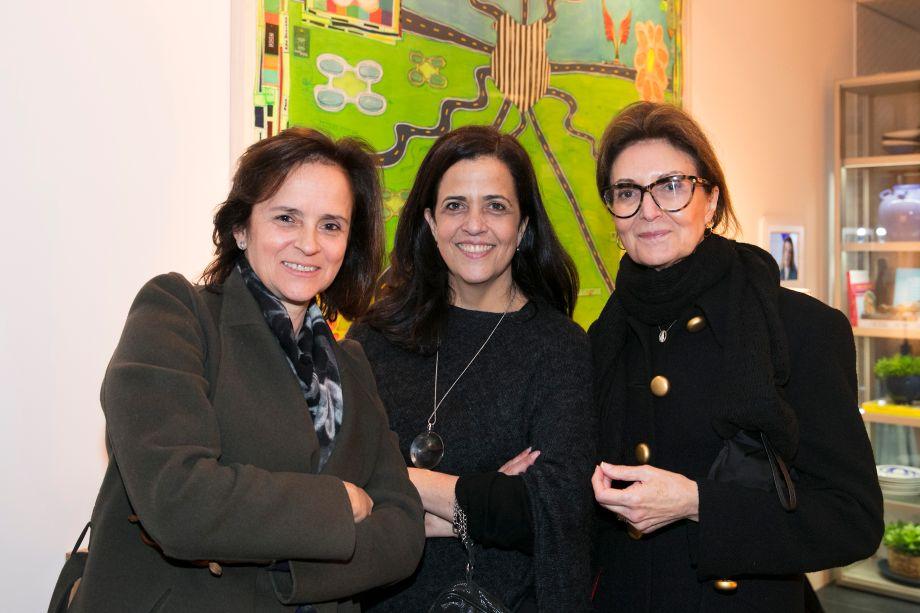 Patrícia Quentel, Paula e Cristina Ferraz