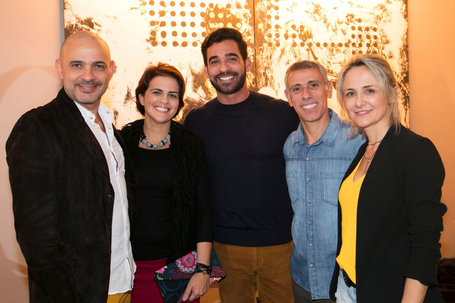 Wlamir Rizzo, Débora Rizzo, Marlon Gama, Fabio Vilches e Leninha Vilches