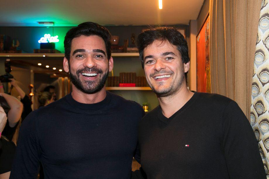 Marlon Gama e Ildeu Lazarinni