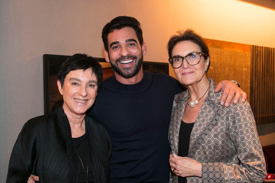 Livia Pedreira, Marlon Gama e Cristina Ferraz