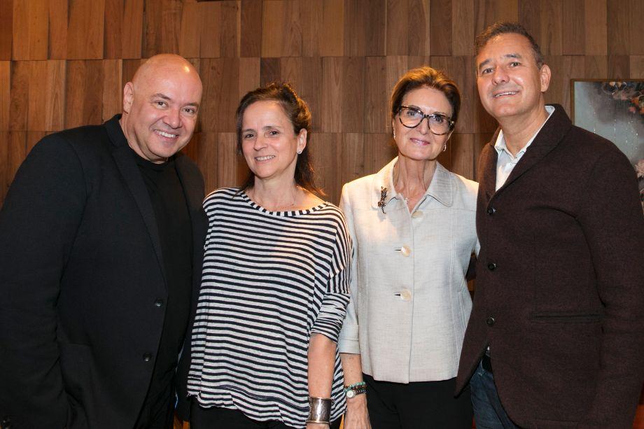 Gilberto Cioni, Patricia Quentel, Cristina Ferraz e Olegário de Sá