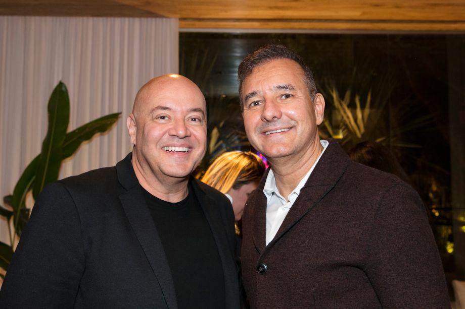 Gilberto Cioni e Olegário de Sá