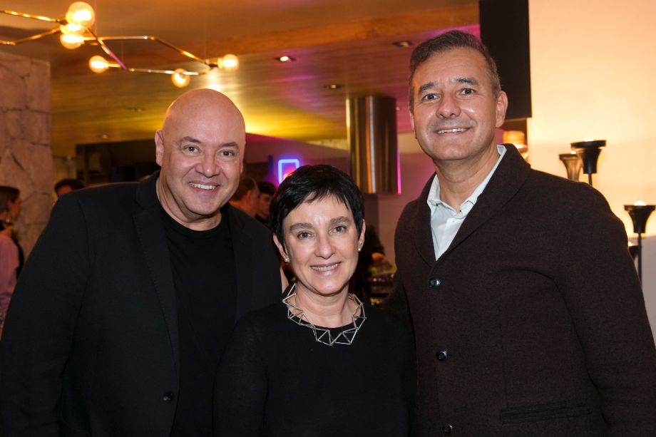 Gilberto Cioni, Livia Pedreira e Olegário de Sá