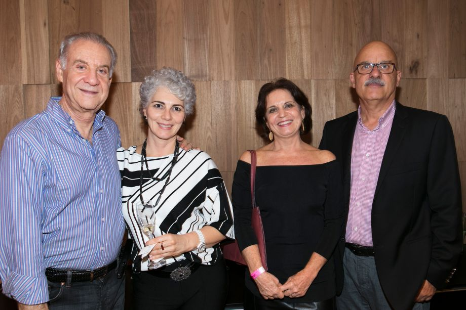Artur Wolkovier, Silvia Dias, Francisco Roxo e Maria José
