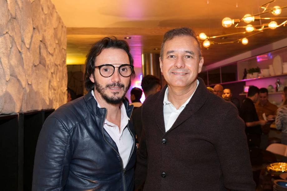 Ricardo Pessuto e Olegário de Sá
