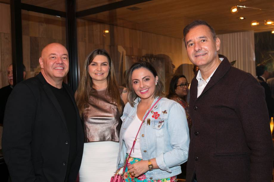 Gilberto Cioni, Alessandra Olivastro, Andrea Lenz e Olegário de Sá