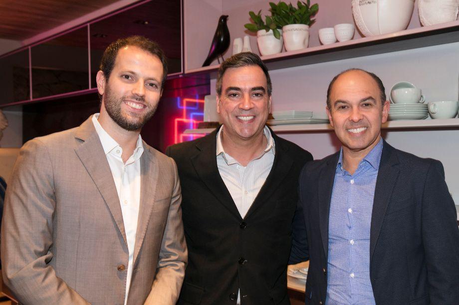 Thiago Breseghillo, Cadu Torres e Edson Busin