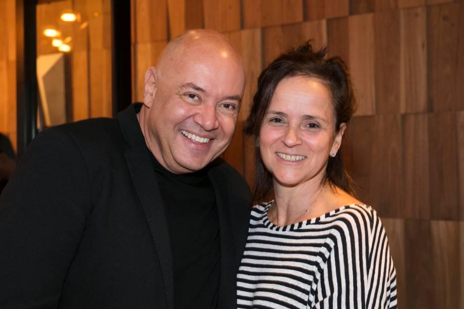 Gilberto Cioni e Patrícia Quentel