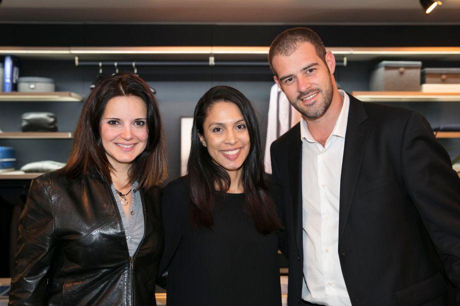 Patricia Boscarol, Patricia Andrade e Paulo Meirelles
