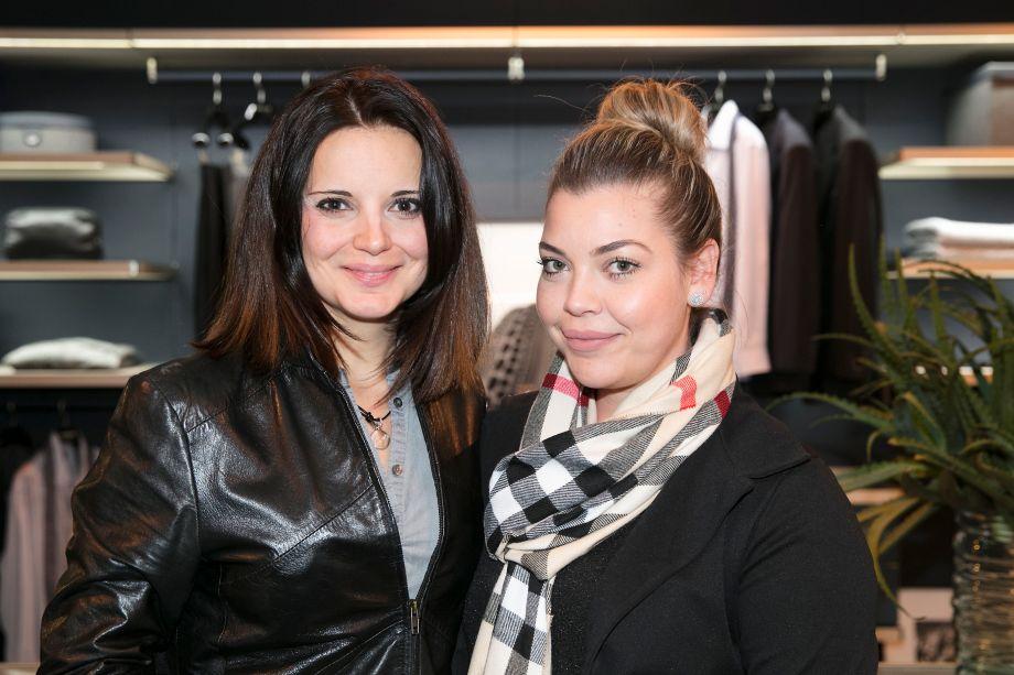 Patricia Boscarol e Juliana Miraes