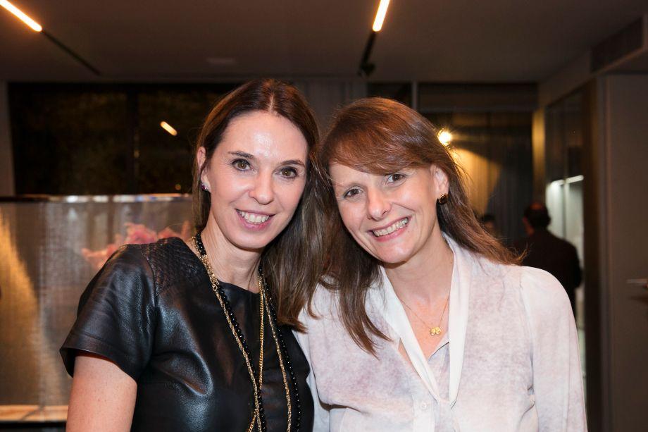 Esther Schattan e Sandra Junqueira