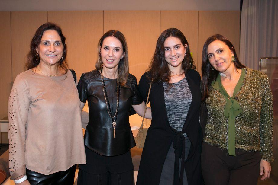 Debby Kacelnik, Esther Schattan, Vicky Kacelnik e Andrea Barzilai