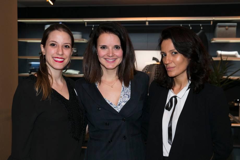 Catarine de Castro, Patricia Boscarol e Ana Mendes