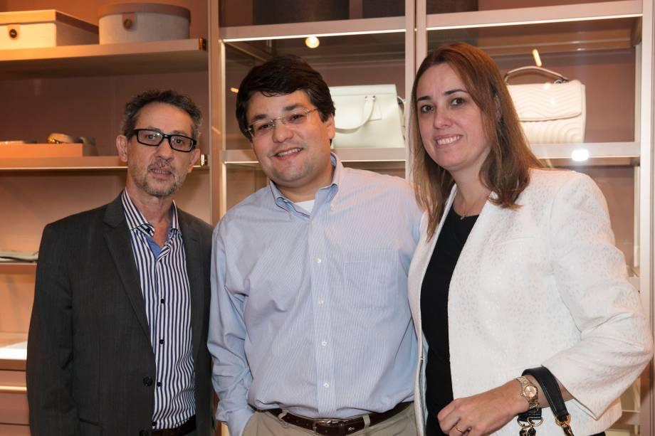 Sidnei Rodrigues, Sergio Cincura e Mila Cincura