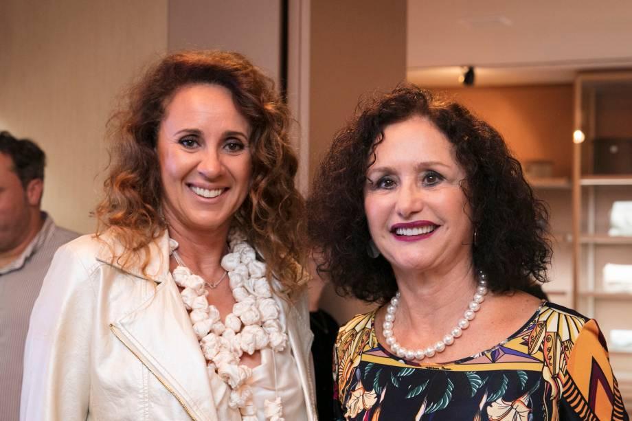Monica Barbosa e Lidia Damy Sita