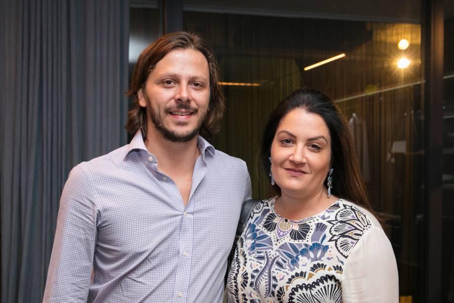 Pedro Maia e Camila Valentini