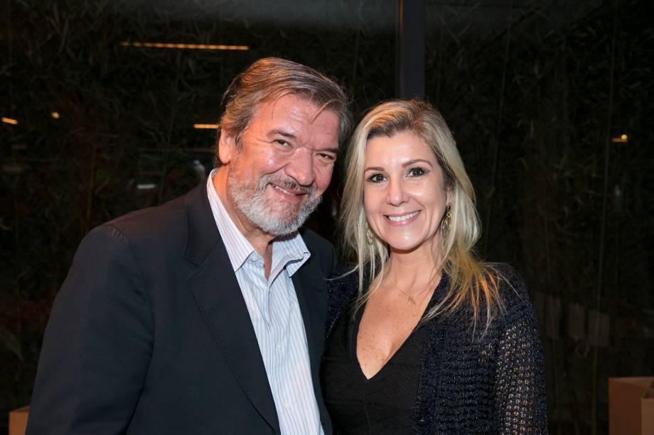 Rubens Passaro e Patricia Bergstrom