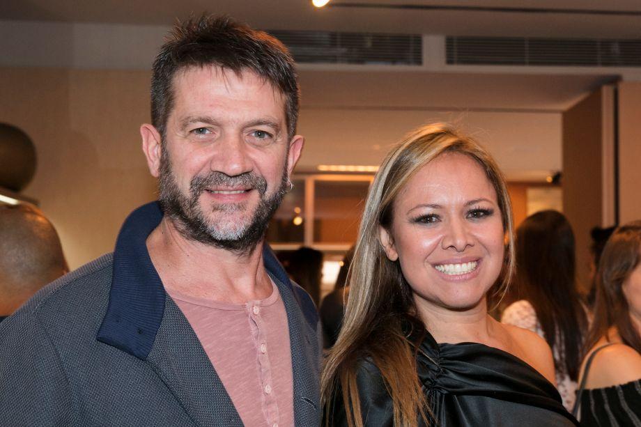 Alexandre Santilli e Monica Rio Verde