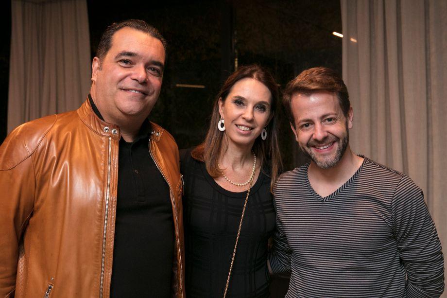 Tarcisio Ximennez, Esther Schattan e Marcos Amorosino