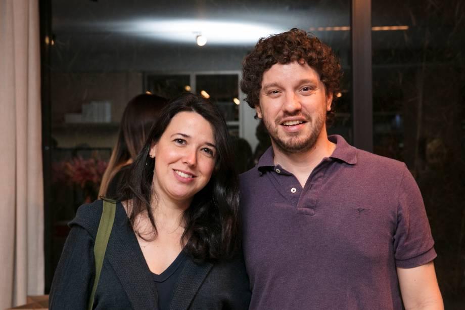 Tatiana Rizzo e Miguel Prata