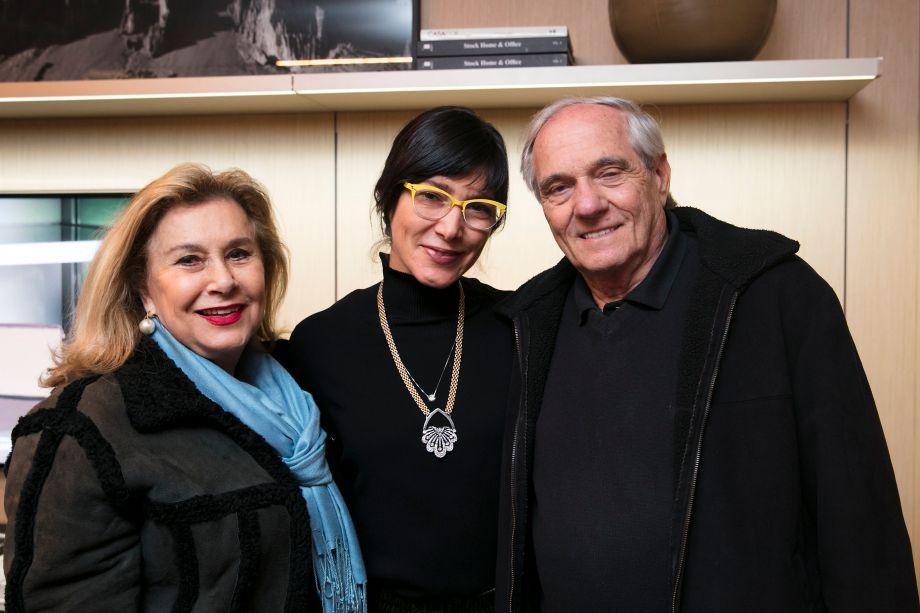 Fanny Bisker, Andrea Bisker e Aron Bisker
