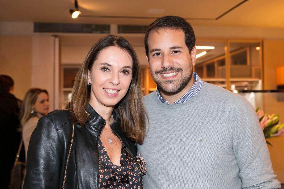 Esther Schattan e Paulo Mathias