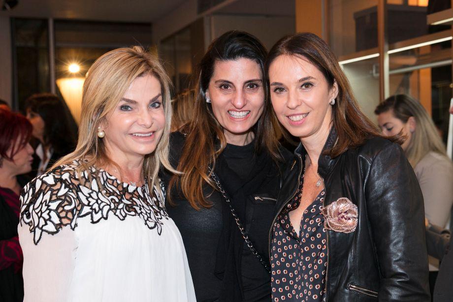 Noura van Djik, Luci Rosset e Esther Schattan
