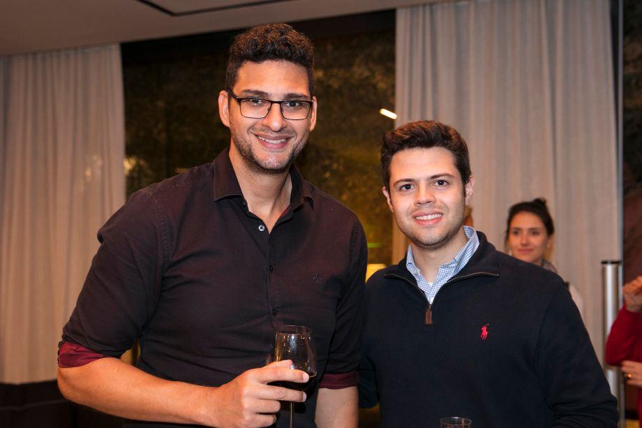 Renato Lopes e Levy Nascimento