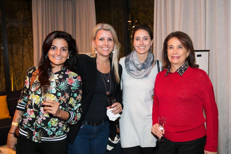 Rosane Occhiuto, Flavia Caldeira, Luciana Conti e Regina Conti