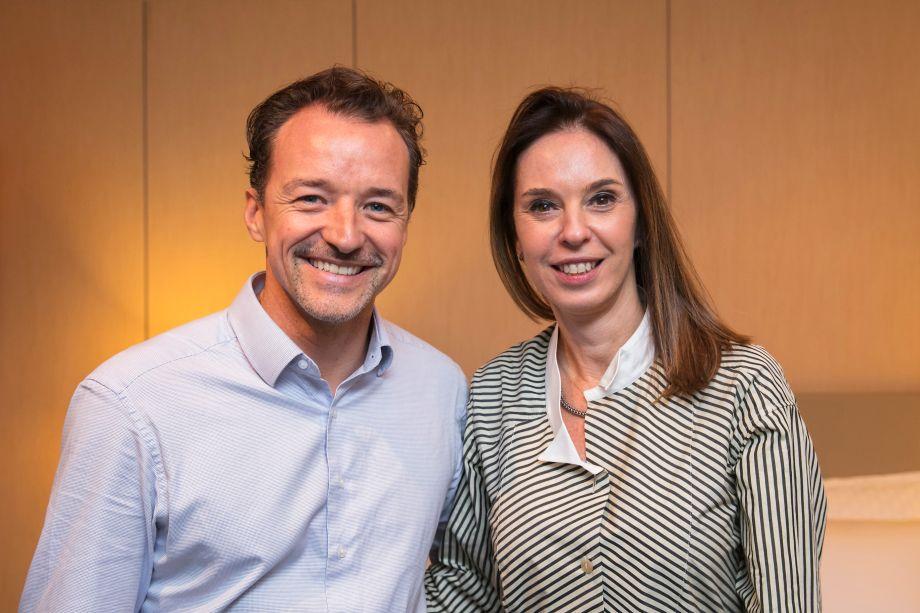 Christian Kadow e Esther Schattan