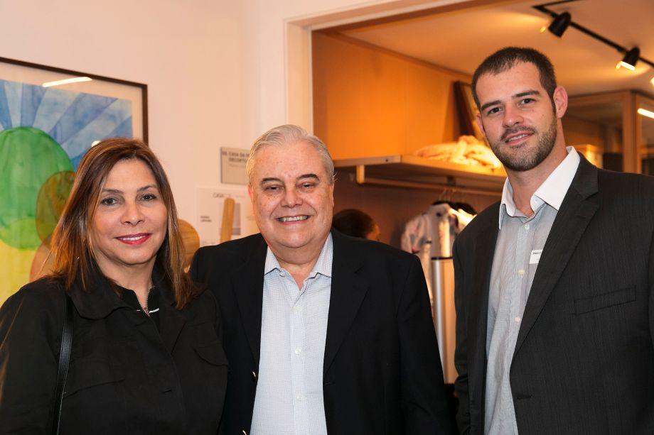 Sara Sguillaro, Jose Eduardo Barreto e Paulo Meireles