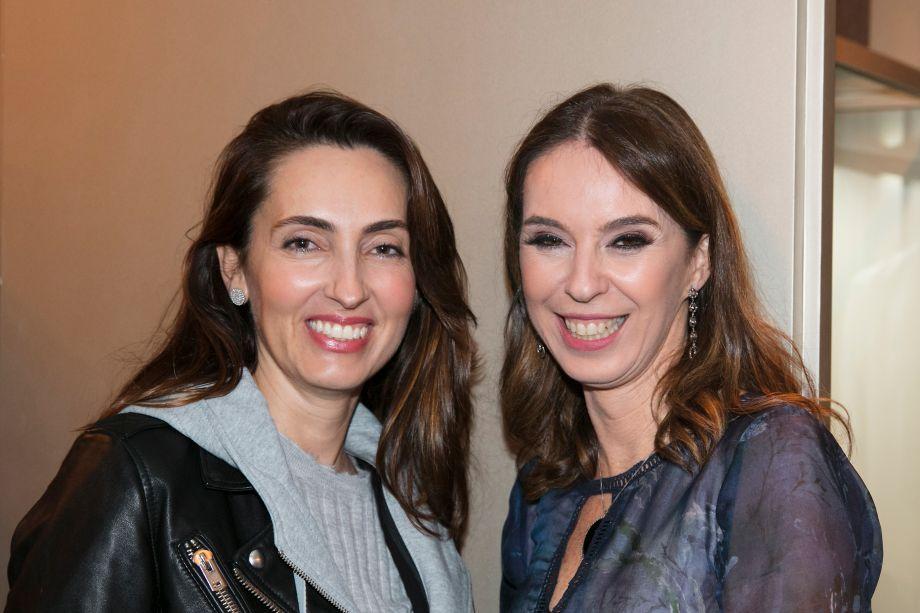 Patricia Anastasiadis e Esther Schattan