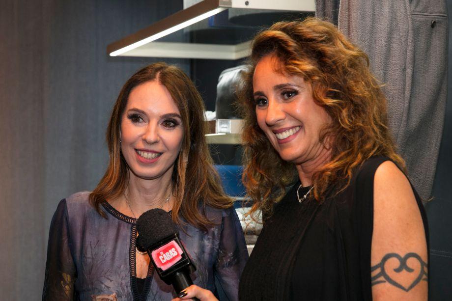 Esther Schattan e Patricia Barbosa