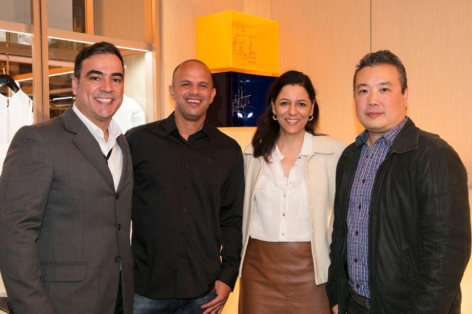 Cadu Torres, Cristhian Sousa, Cleide Gomes e Eric Butsugam