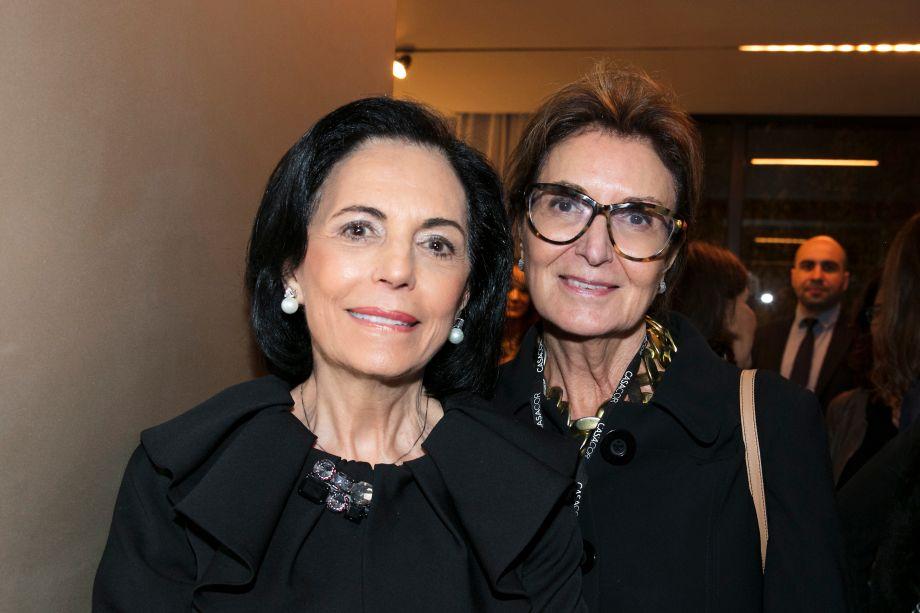 Dayse Gasparian e Cristina Ferraz