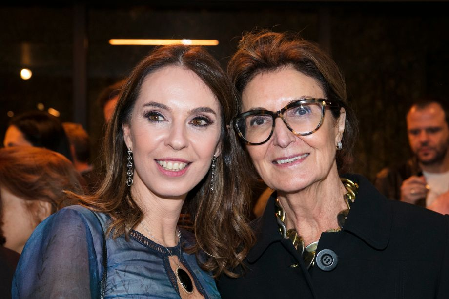 Esther Schattan e Cristina Ferraz