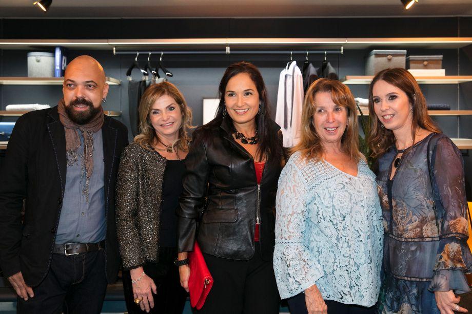 Paulo de Melo, Noura Van Dijk, Marta Sa, Celina Dias e Esther Schattan