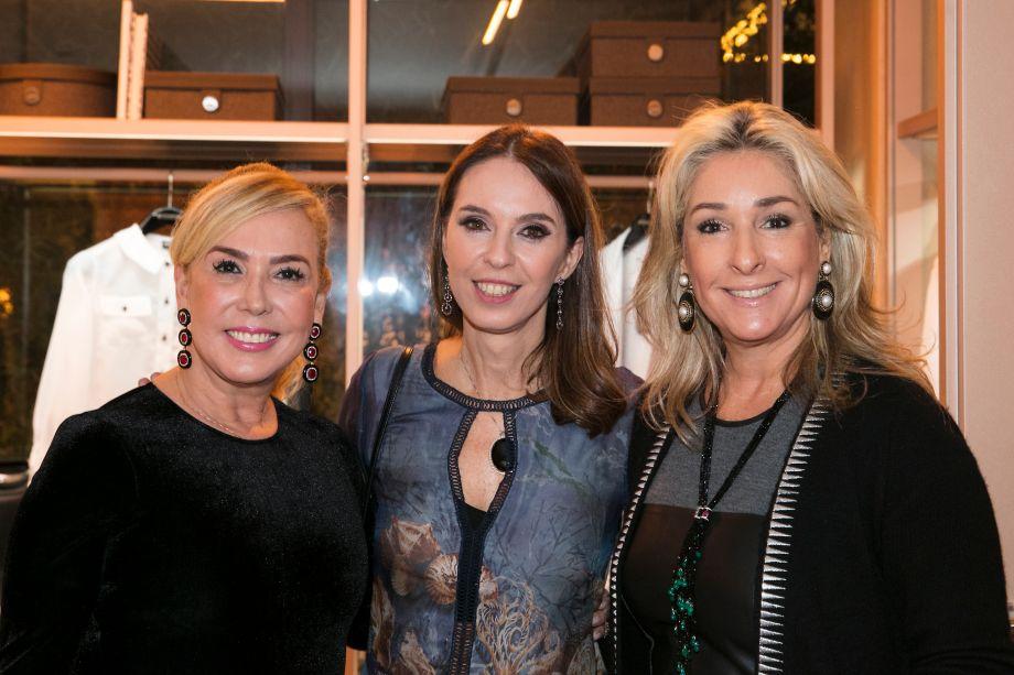 Denise Scussolino, Esther Schattan e Leticia Linton