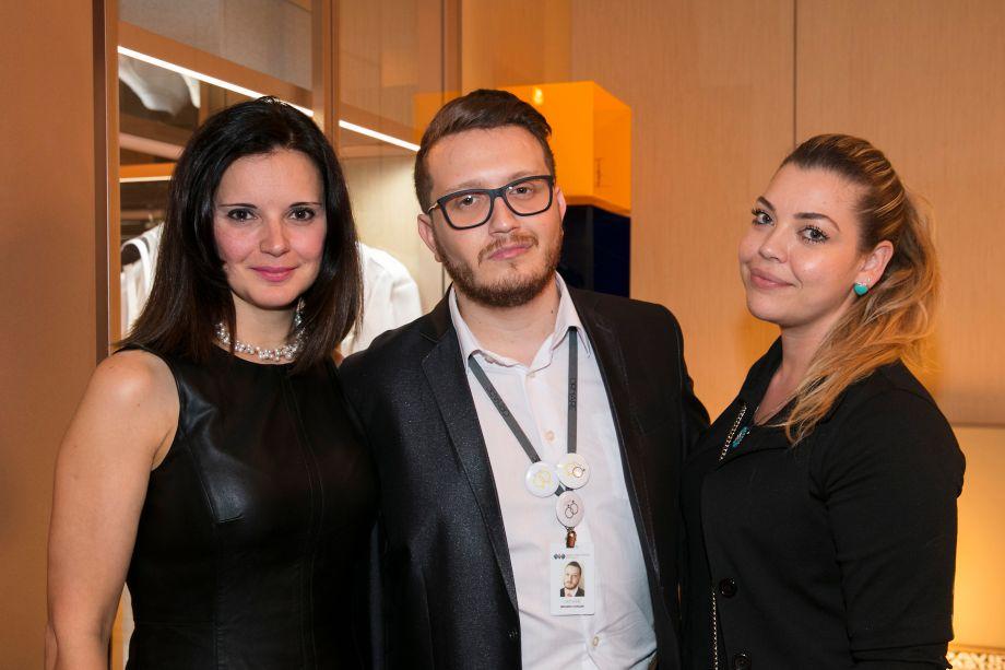Patricia Boscarol, Brunno Chagas e Juliana Miraes