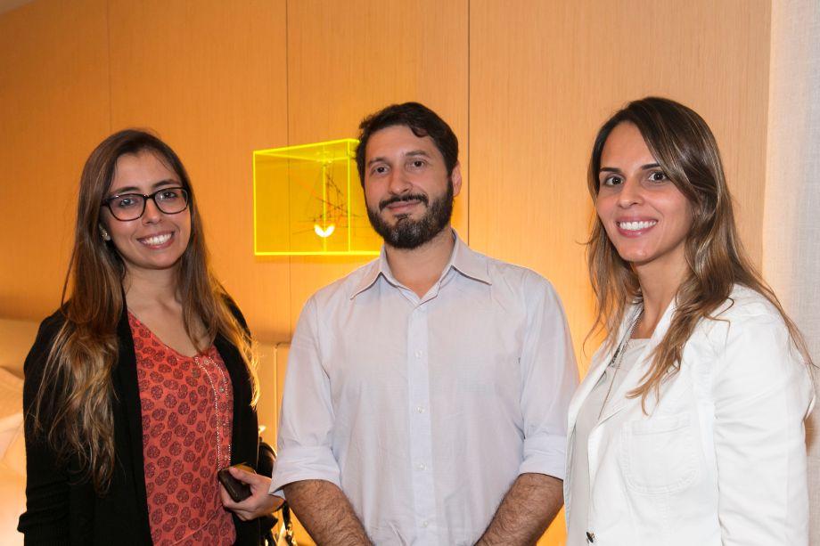 Rubia Garcia, Nelson Brazil e Nathalia Lourenço